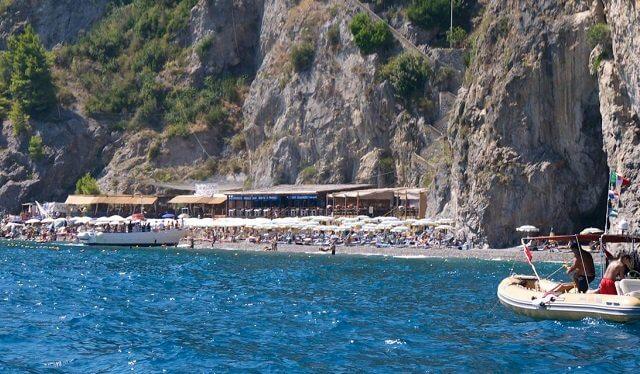 Praias em Ravello na Costa Amalfitana