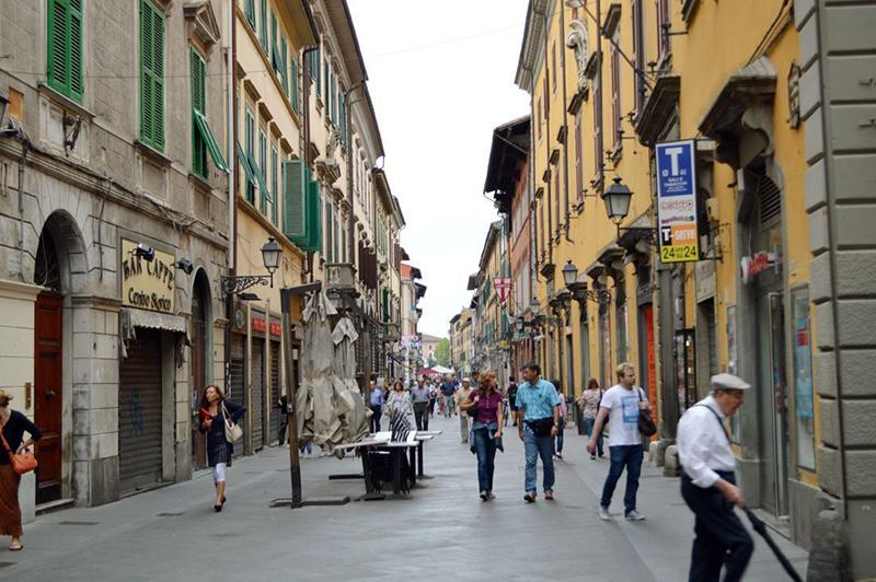 Corso Italia em Pisa