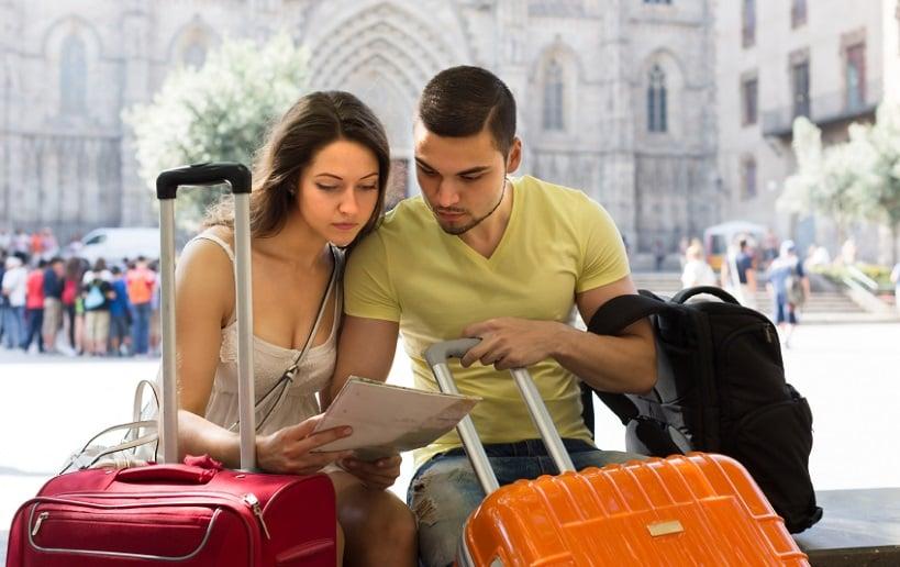 Turistas na Itália