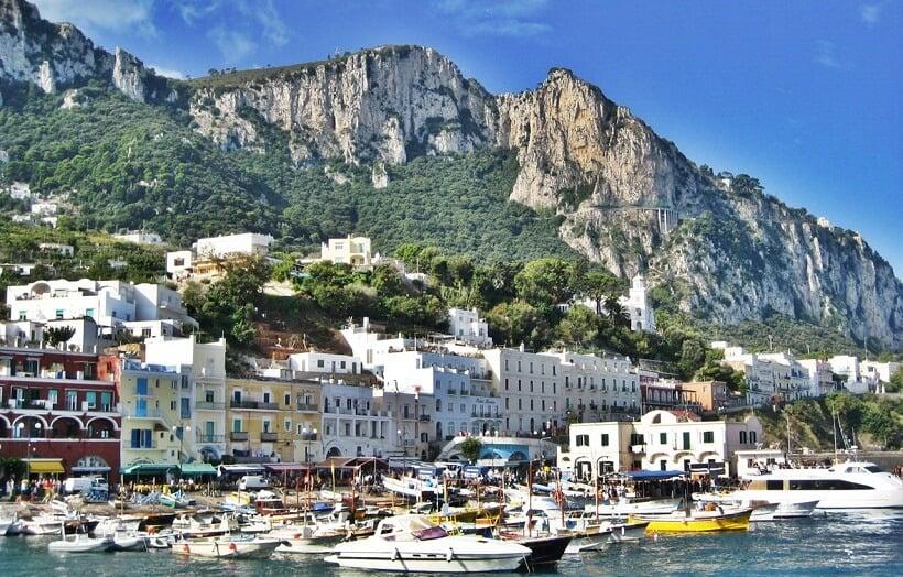 Passeios na Ilha de Capri na Itália