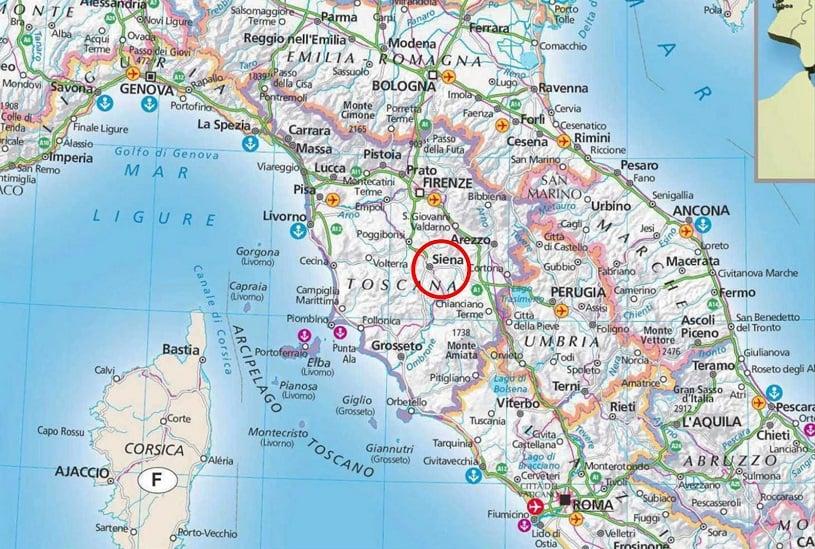 Siena na Itália