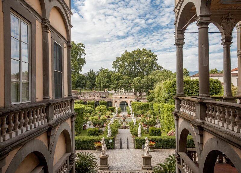 Palazzo Pfanner em Lucca