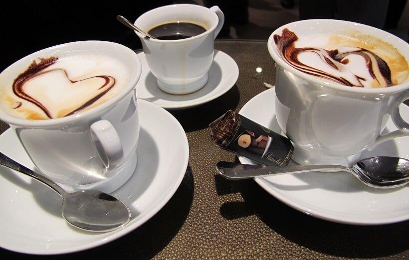 Café em Lucca, na Itália