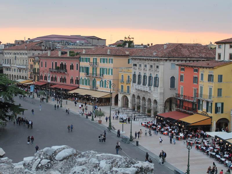 Piazza Brà em Verona