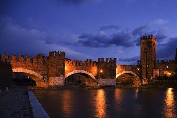 Ponte Scaligero em Verona