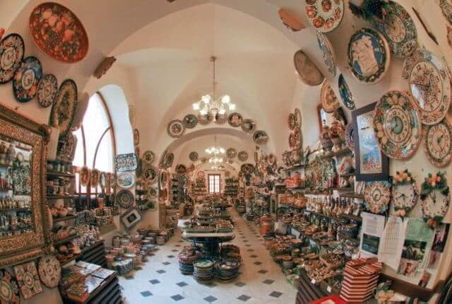 Ceramiche d'Arte Carmela em Ravello