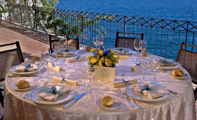 Restaurantes em Ravello