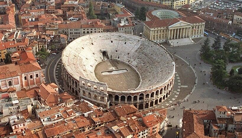 Arena de Verona na Itália