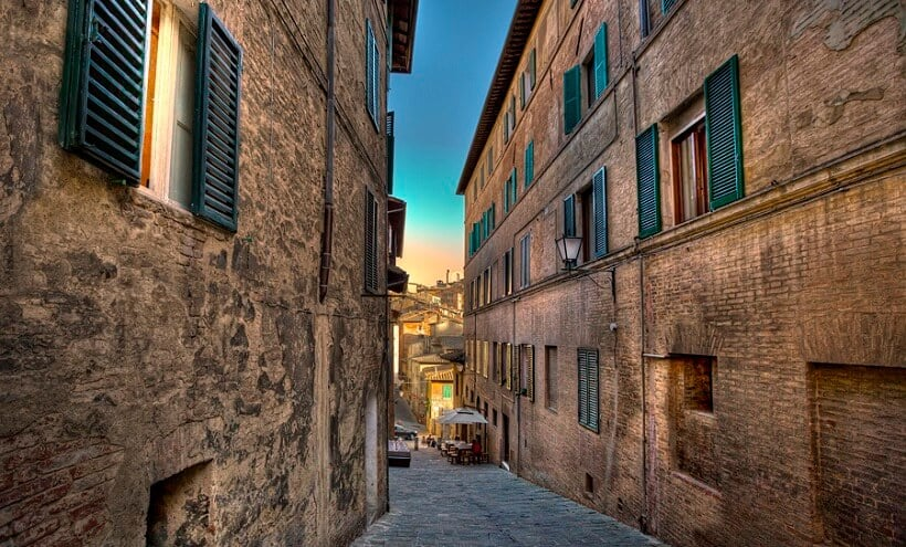 Centro histórico de Siena
