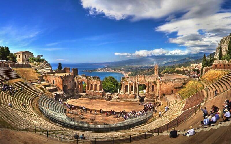Teatro Grego em Taormina