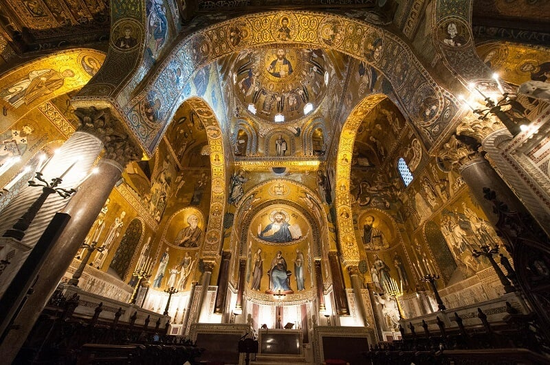 Capella Palatina em Palermo