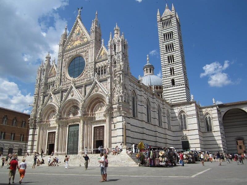 Catedral de Siena na Itália