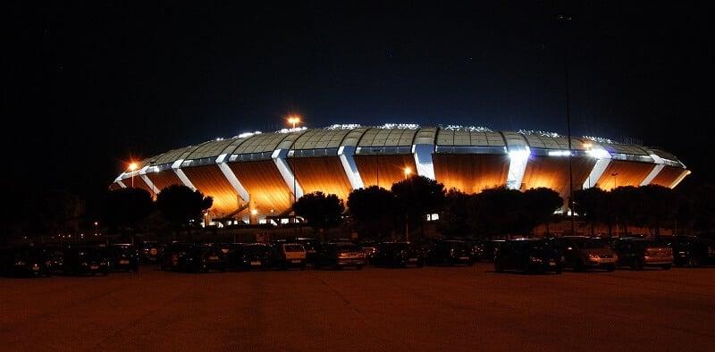 Estádio San Nicola em Bari na Itália