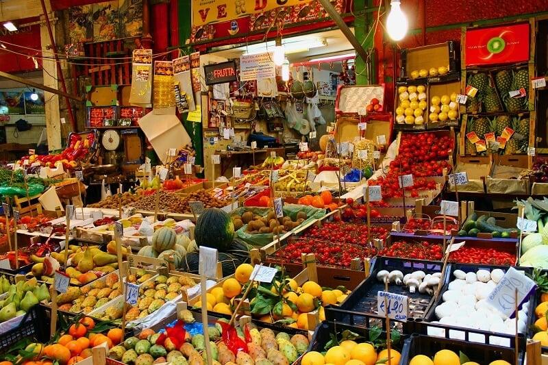 Mercado Vucciria em Palermo