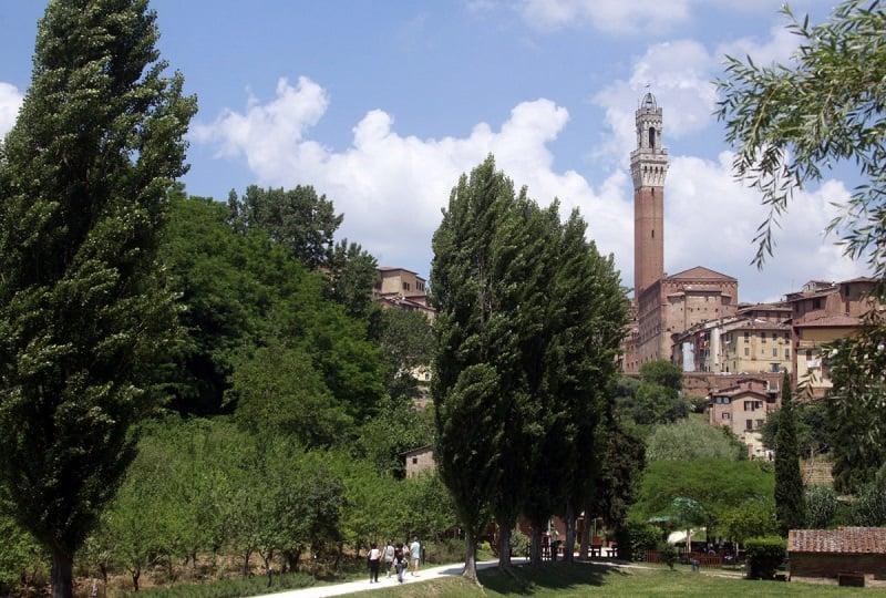 Orto de Pecci em Siena