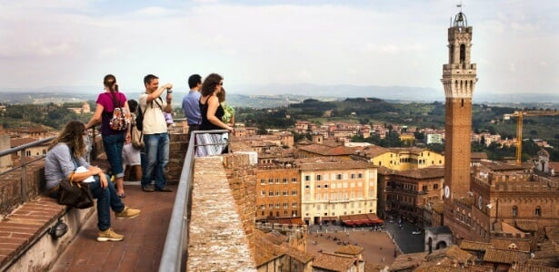 Pontos turísticos em Siena