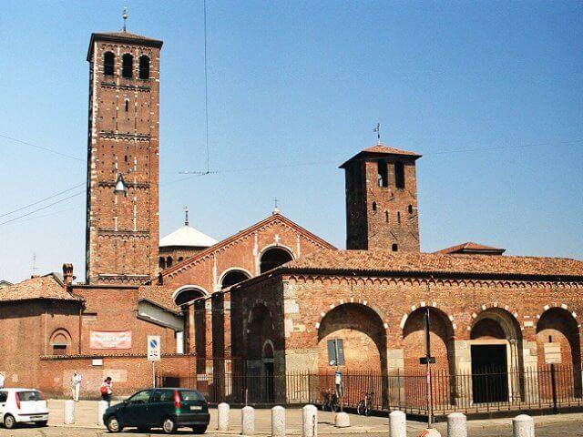 Basílica di Sant'Ambrogio em Milão