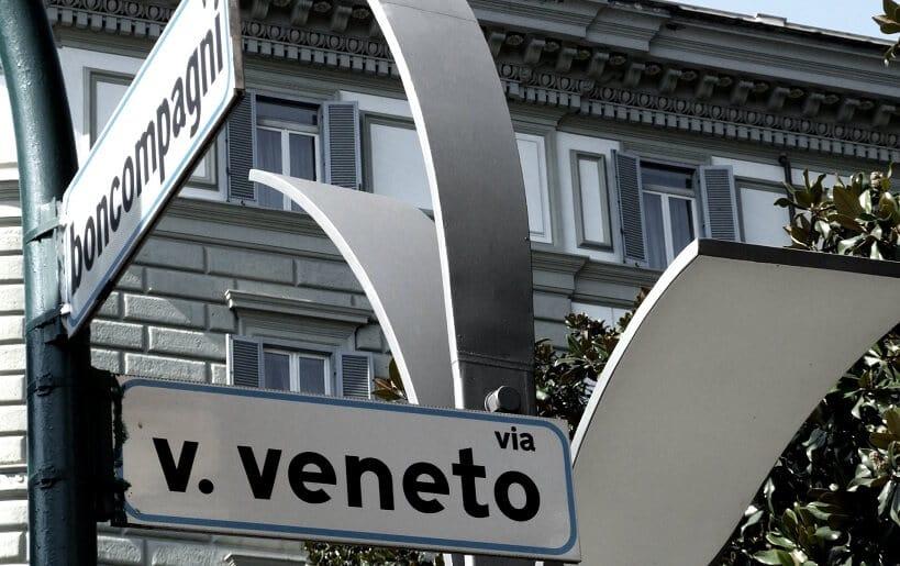 Via Veneto em Roma