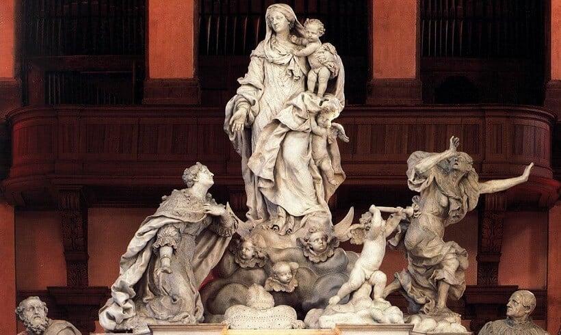 Altar da Basílica de Santa Maria della Salute em Veneza