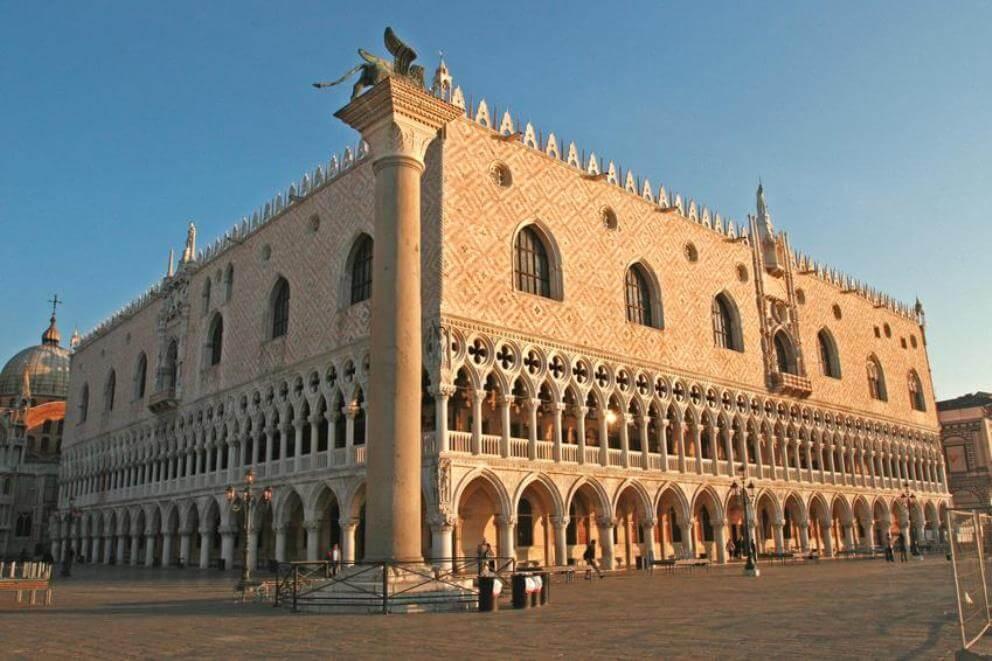 Palácio Ducal em Veneza na Itália