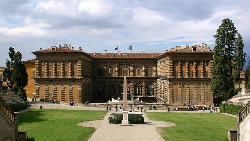 Jardim de Bobloi no Palazzo Pitti em Florença