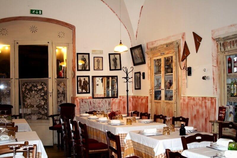 Restaurante Terramina em Bari na Itália