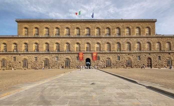 Palazzo Pitti em Florença na Itália