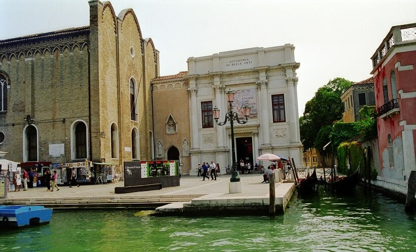 Accademia no Dorsoduro em Veneza
