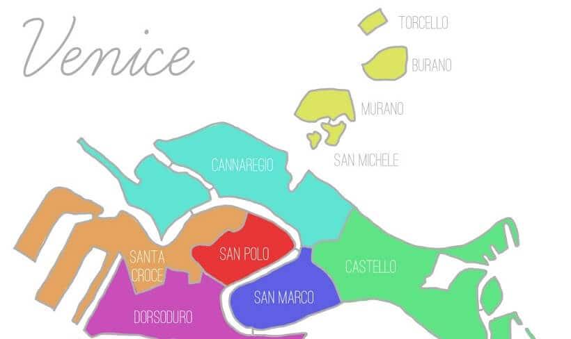 Sobre o Dorsoduro em Veneza