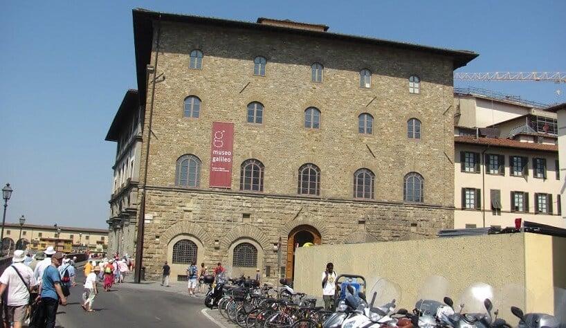 Museu Galileo no Palazzo Castellani em Florença