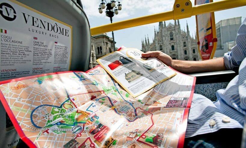 Informações sobre o passeio de ônibus turístico em Milão