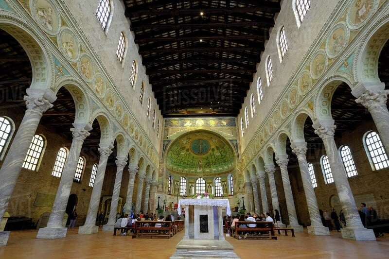 Basílica de Sant'Apollinare in Classe na Itália