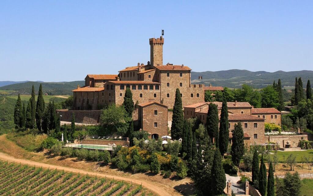 Castello Banfi em Montalciano