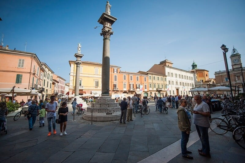 Piazza del Popolo em Ravena
