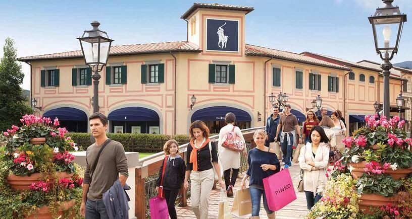 Outlet Barberino em Florença na Itália