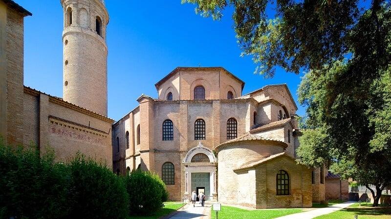 Basílica San Vitale em Ravena na Itália
