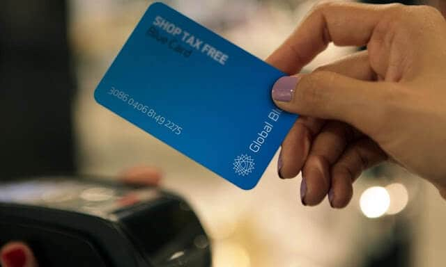 Cartão da Global Blue