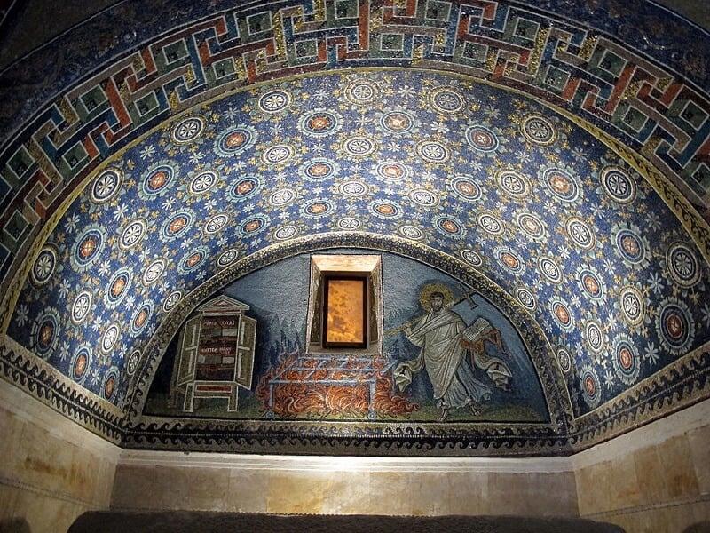 Mausoléu de Gala Placídia em Ravena