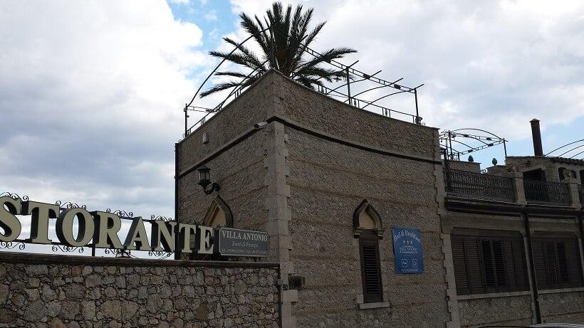Ristorante Villa Antonio em Taormina