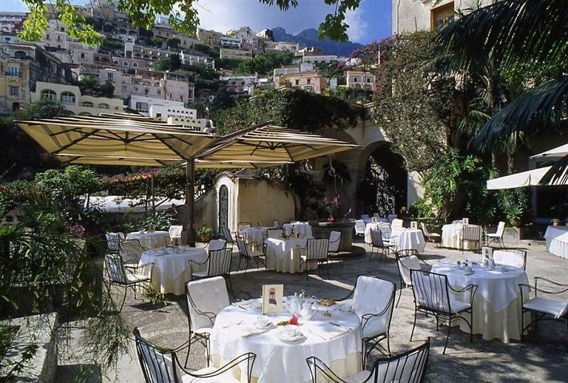 Restaurante Al Palazzo em Positano