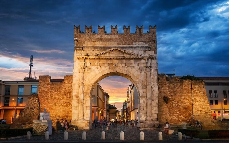 Arco de Augusto em Rimini