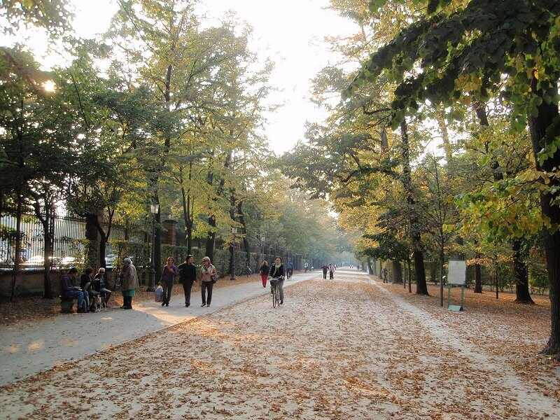 Parco Ducale em Parma