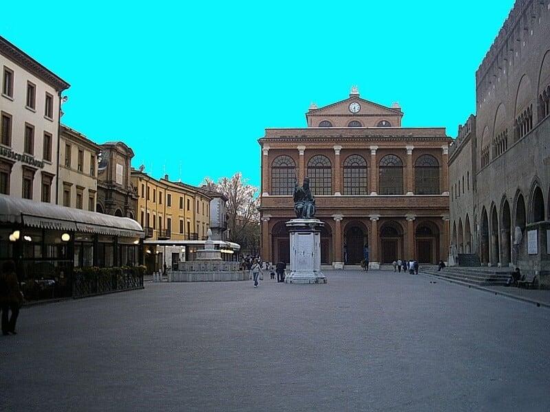 Piazza Cavour em Rimini