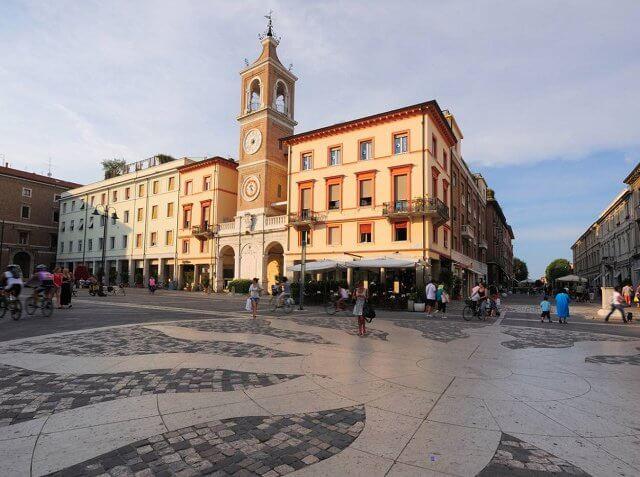 Pontos turísticos em Rimini