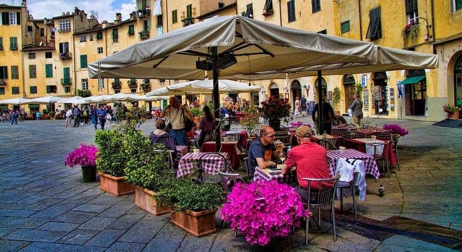 Restaurante em Lucca