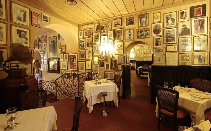 Restaurante Museo Caruso em Sorrento