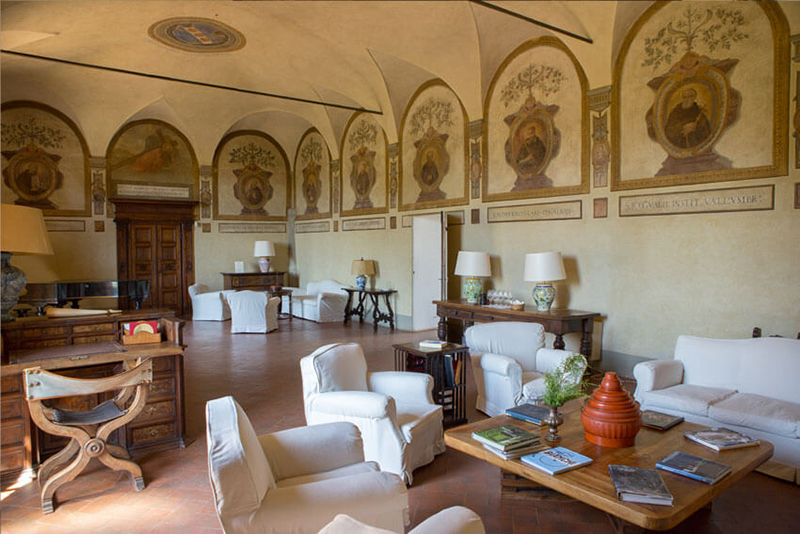 Vinícola Coltibuono na Toscana