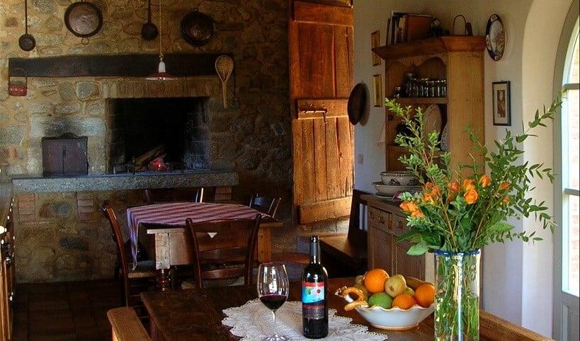 Interior da Maté Winery em Montalcino