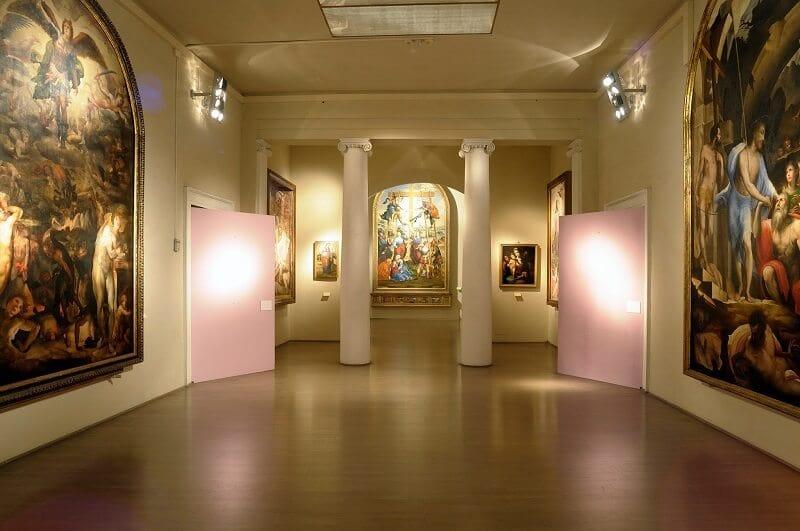 Interior da Pinacoteca Nazionale di Siena