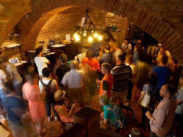 Cantina de' Ricci em Montepulciano